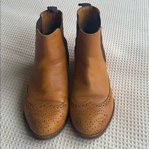Dune London leather boots size 36UK or women's 5